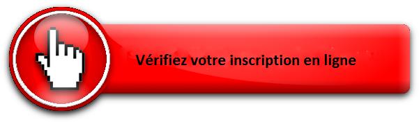 bouton verifiez votre inscription en ligne